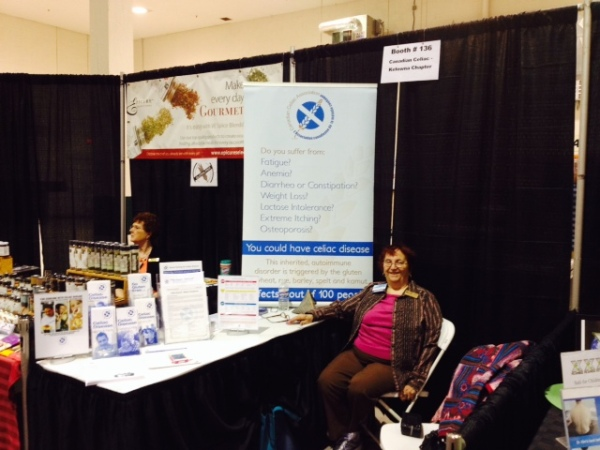 Kelowna Celiac at the Kelowna Health Show