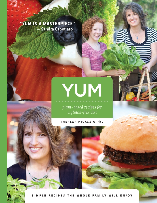 YUM Gluten-free cookbook